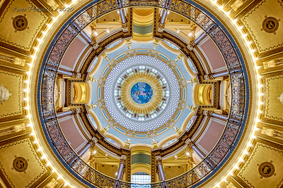 Iowa State Capitol - Dome