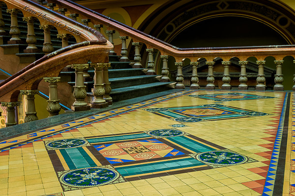 Iowa State Capitol - Tile floor