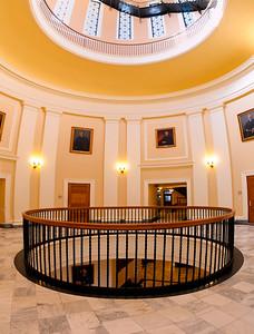Full Rotunda of Maine State House, Augusta