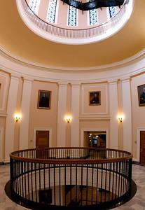 Maine State House Rotunda, Augusta 10 image vertical panorama