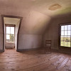 """This is the room where """"Third Floor Bedroom"""" was painted in 1947.  A five image panorama.  (3rd floor)"""