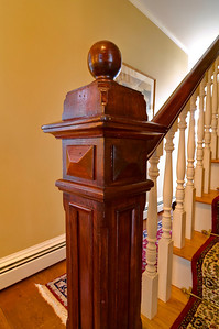 The Original Newel Post Detail Shot.