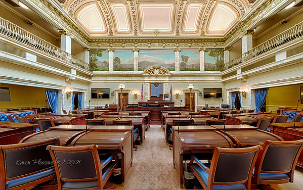 Utah State Capitol - Senate Chamber