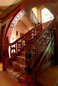Hartley Lord Estate Grand Staircase Kennebunk, Maine