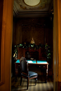 Writing Room, off of the Sitting Room, Victoria Mansion, Portland, ME.