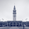 Ferry building clock tower, San Francisco