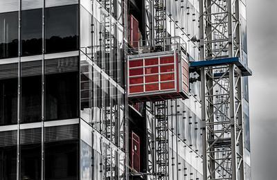 Skyscraper Under Construction - Salt Lake City - Utah