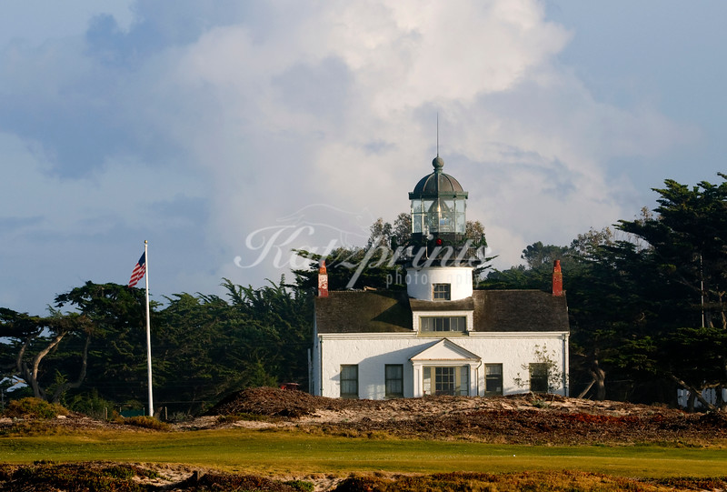 Point Pinos Lighthouse in Pacific Grove, the oldest continuously operating lighthouse on the West Coast