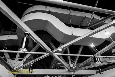 Discovery Centre ductwork.