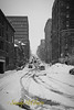Downtown Halifax in the snow.