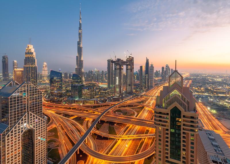 Sheikh Zayed Road Dubai