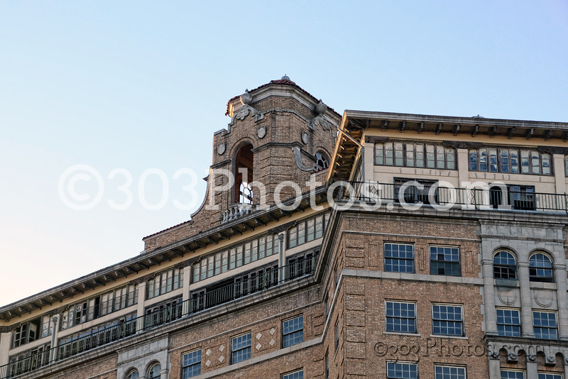 Baker Hotel in Mineral Wells, Texas.