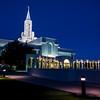 Bountiful Mormon (LDS) Temple Before Sunrise - Utah