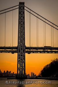 George Washington Bridge, By www.AlexKaplanPhoto.com