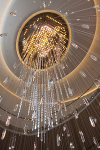 Chandelier at The Rock, Rockefeller Center, NYC