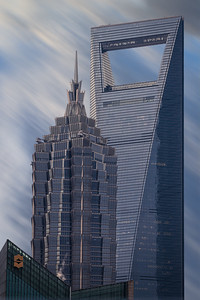 Jin Mao Tower & Shanghai World  Financial Centre, China