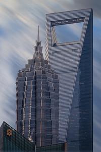 Jin Mao Tower & Shanghai World  Financial Centre, China
