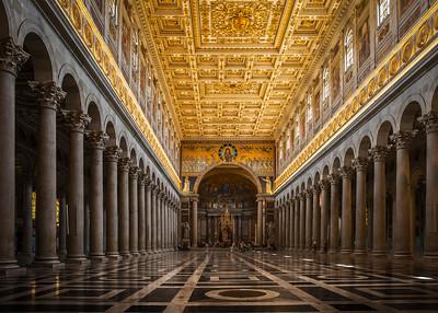 Basilica di San Paolo Fuori Le Mura, Rome, Italy