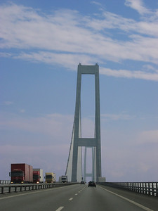 Great Belt Bridge (Storebæltsbroen), Denmark