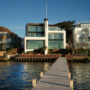 Seaside house, Sandbanks, Poole