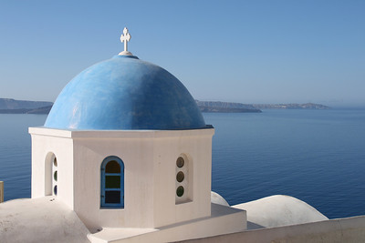 The classic Greek Islands shot.