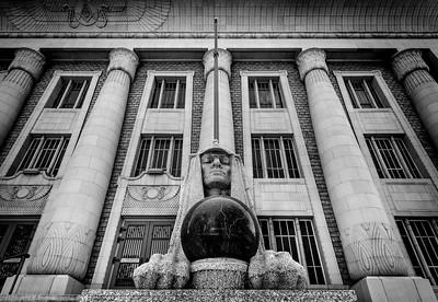 Salt Lake City Masonic Temple Sphinx - Utah