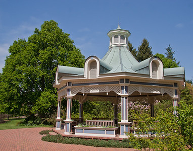Fellows Riverside Gardens gazebo, Youngstown, OH