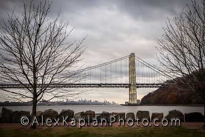 George Washington Bridge, By Alex Kaplan www.AlexKaplanPhoto.com