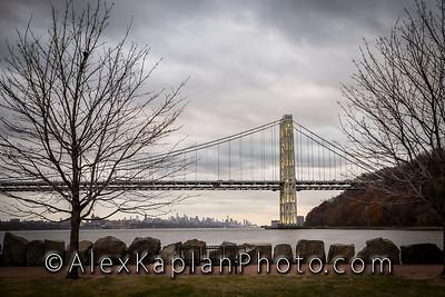 George Washington Bridge, By Alex Kaplan www.AlexKaplanPhoto.com