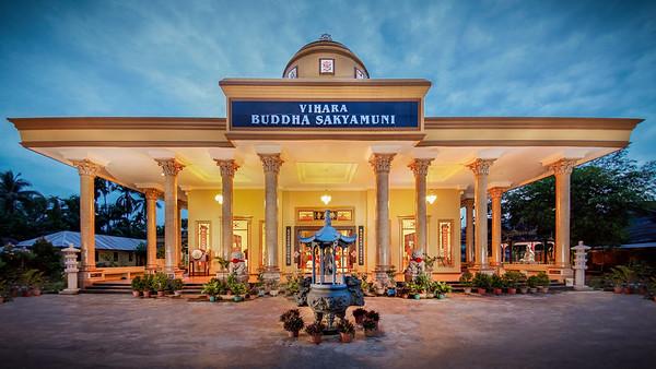 Sakyamuni Buddha Temple - Bagansiapiapi