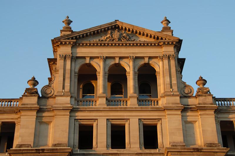 Beautiful Victorian architecture in Brisbane, Australia.