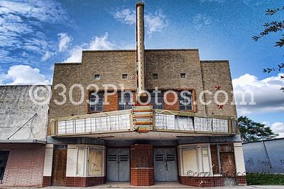 Rig Theatre in Premont, Texas.