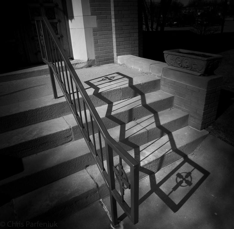 Stairs at Saint Brigid