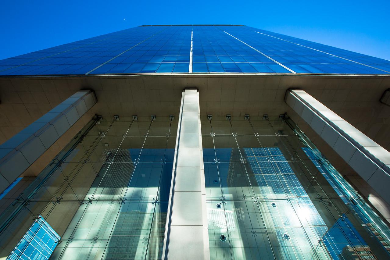 Skyscraper in the Business District