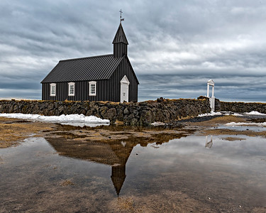 Burdie Church, Iceland