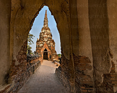 Temple  in Ayutthaya, Thailand