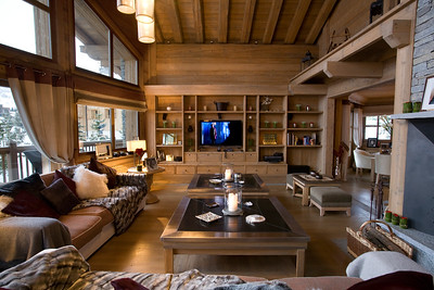 Chalet, Courchevel