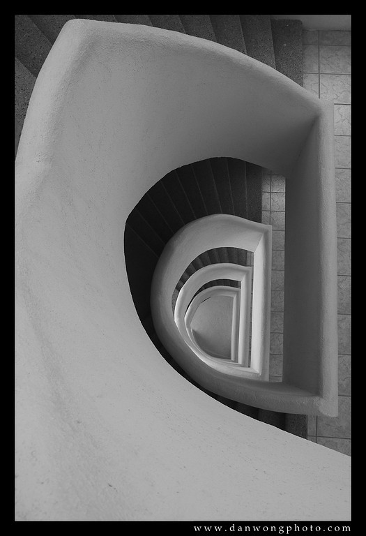 Staircase. Rocky Point, Mexico.