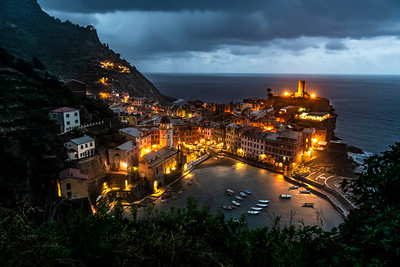 Vernazza rains
