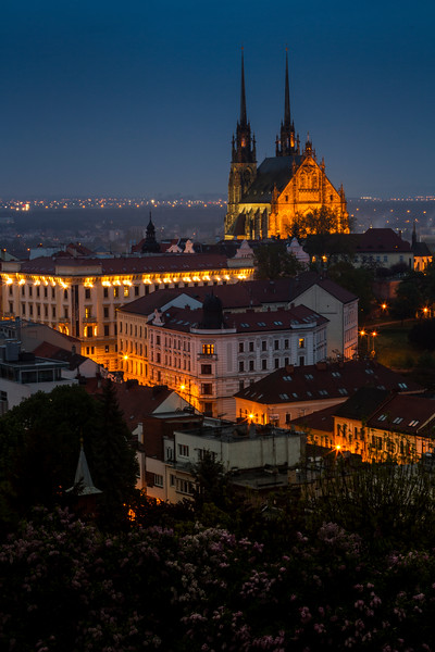 St. Peter and Paul cathedral in Brno