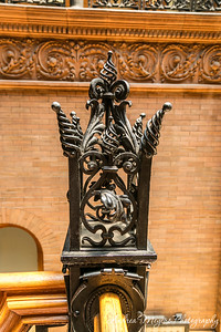 Railing detail, Bradbury Building, Los Angeles
