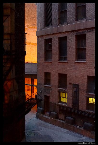 Chicago alley.