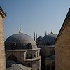 Peering at the Blue Mosque