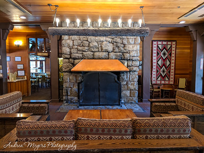 Bryce Canyon Lodge Lobby, Bryce Canyon National Park, Utah