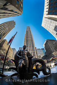 Rockerfeller Center, New York City, By Alex Kaplan www.AlexKaplanPhoto.com