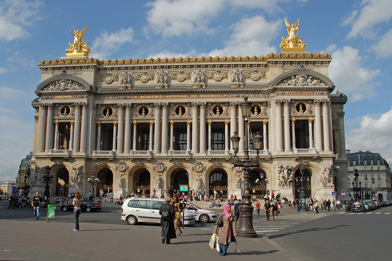 Inaugurated in 1875, the opera house was officially named the Académie Nationale de Musique. The Palais Garnier, also known as the Opéra de Paris or Opéra Garnier or Grand Opera House is a 2,200-seat opera house in Paris, France. This grand landmark was designed by Charles Garnier in the Neo-Baroque style and it is regarded as one of the architectural masterpieces of its time.