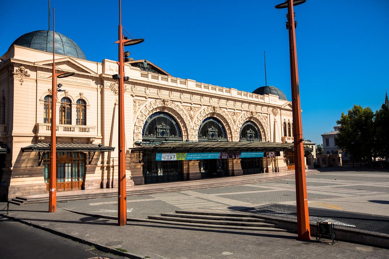 Mapocho Train Station