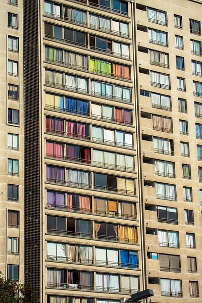 Apartment Building in Santiago