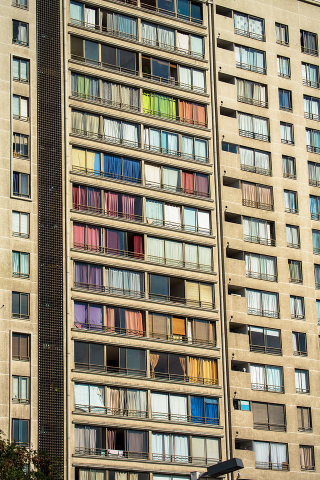 Apartment Building in Santiago