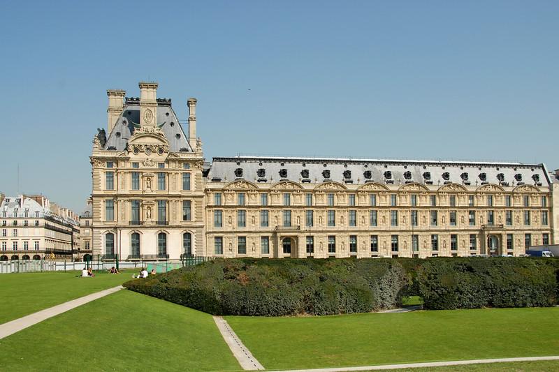 The Louvre Museum (French: Musée du Louvre) in Paris, France.